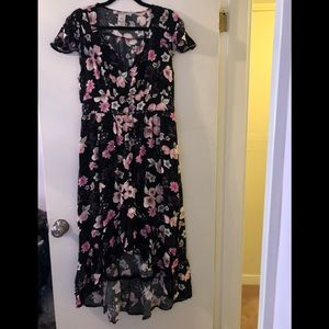 Floral high low dress by American Rag